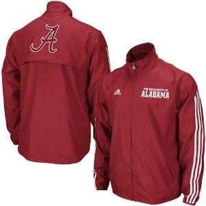 Adidas Alabama Crimson Tide Mens Lightweight Jacket Xx