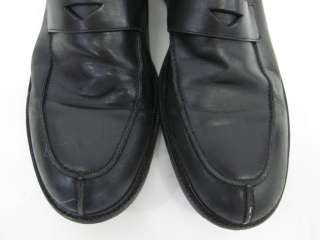 BANANA REPUBLIC Mens Black Dress Loafers Shoes Sz 10.5