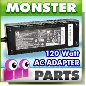 120W AC Adapter Power Cord Supply HP HDX18 Notebook PC