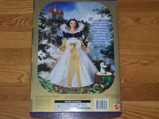 Barbie Doll   Holiday Princess Snow White *NIB* Disneys Seven Dwarfs