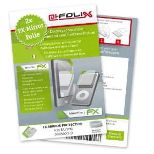 atFoliX FX Mirror Stylish screen protector for Easypix DVX5000HD / DVX
