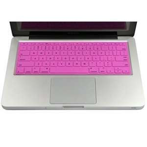Hot Pink Ultra Thin Solid Keyboard Silicone Cover Skin for Macbook