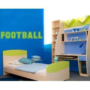 Football Sports Vinyl Wall Decal Sticker Mural Quotes Words