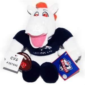 Denver Bronco NFL Football CVS Beany Plush Toys & Games