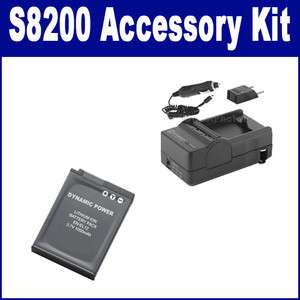 Nikon COOLPIX S8200 Digital Camera Accessory Kit (Battery, Charger
