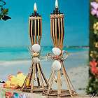NEW 12 TABLE TIKI BAMBOO TORCHES/Luau Party Decoration/Wedding Favor