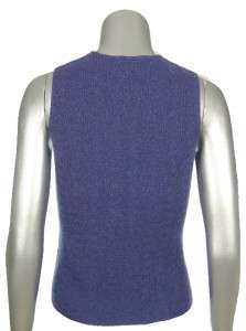 Sutton Studio Pure Cashmere Shell Sleevless Sweater