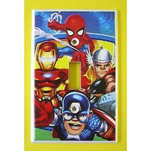 Marvel Captain America Thor Spiderman Iron Man Switch
