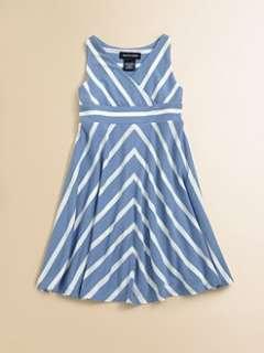 Ralph Lauren   Toddlers & Little Girls Striped Jersey Dress