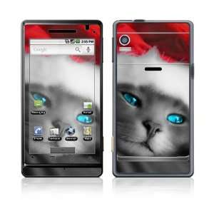 Droid Skin Decal Sticker   Christmas Kitty Cat