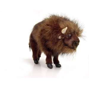 Hansa Buffalo (American Bison) Stuffed Plush Animal Toys
