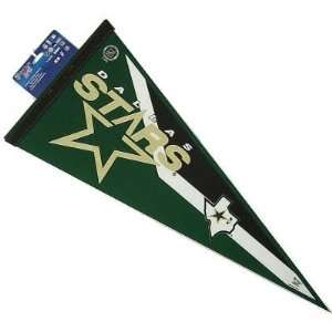 DALLAS STARS OFFICIAL LOGO FULL SIZE FELT PENNANT Sports