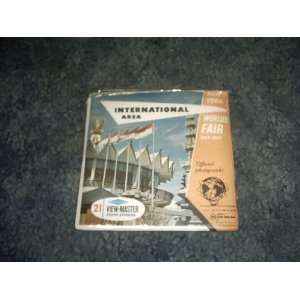 Worlds Fair International Area View Master Reels A673 SAWYERS Books