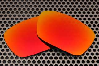 New VL Polarized Fire Red Replacement Lenses for Oakley Jury