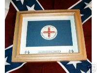 Confederate Cavalry Civil War Flag.8th Texas Rangers