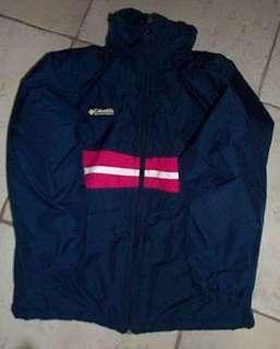 Columbia Girls Navy/Pink Snowboarding Ski Jacket 10/12