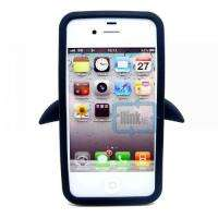 Penguin Silicone Soft Case Cover Skin For Apple iPhone 4 4G 4S S color