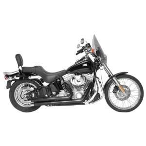 Tip for 1986 2011 Harley Davidson Softail   Color  Black   Size  1