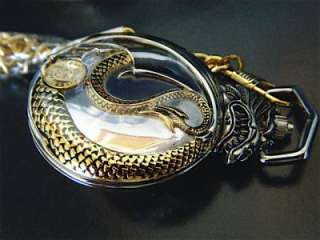Franklin Mint BORIS VALLEJO DRAGON COLLECTOR POCKET WATCH (WATCH ONLY