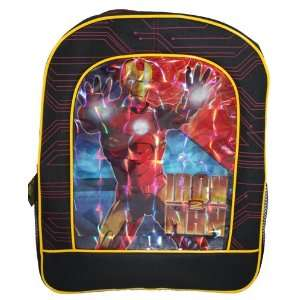 Marvel Iron Man 16 Backpack Lanticular Image Baby