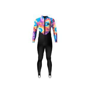 Aeroskin Nylon Full Body Suit with Tie Dyed Pattern