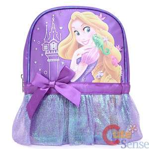 Disney Princess Tangled Rapunzel School Backpack 10 Mini Bag with