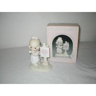 Precious Moments God is Love Dear Valentine Porcelain Figurine