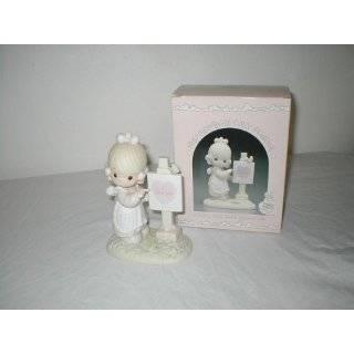 Precious Moments God is Love Dear Valentine Porcelain Figurine