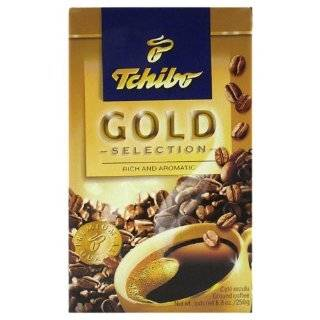 Tchibo Coffee Tchibo Gold Selection, 8.8 Ounce Boxes (Pack of 4)