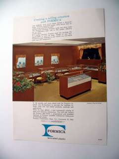 Formica Walls & Display Cases Jewelry Store print Ad