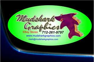 CUSTOM VINYL DECALS MADE TO ORDER HERE MUDSHARKGRAPHICS