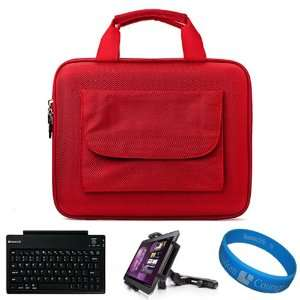 Durable Cube with Pocket Series Carrying Case with Pocket for Lenovo