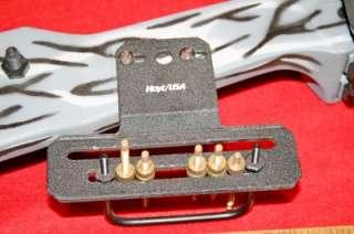 Hoyt Impulse Compound Bow 45 60# Grey Camo