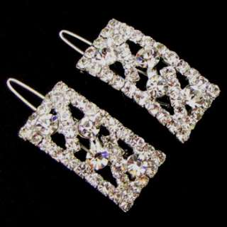 ADDL Item  2 pc Austrian rhinestone crystal fashion hair