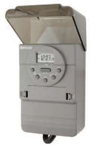 WOODS DIGITAL PROGRAMMABLE OUTDOOR TIMER FOR POOL/SPA, PUMPS, LIGHTING