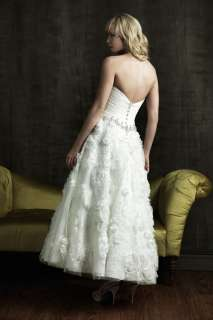 New Charming Short Sweetheart White/Ivory Wedding Dresses Bridal Gown