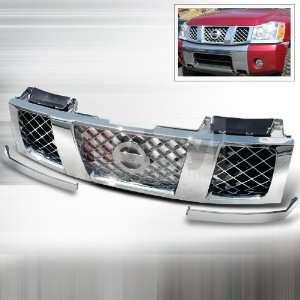 Nissan Titan / Armada 2004 2005 2006 2007   Chrome Grille