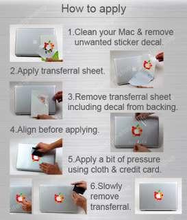 Laptop Sticker Skin for Apple MacBook Pro Air Mac Unibody 13