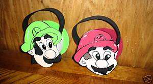 Mario & Luigi party favor favors baskets party supplies