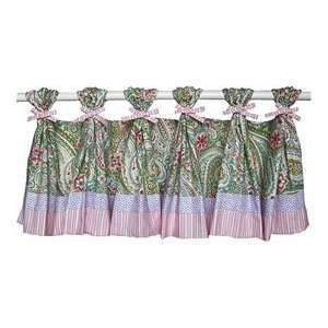 Paisley Days Tab Top Valance Baby