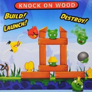 Angry Birds Knock on Wood Game Slingshot Toys / Ornaments