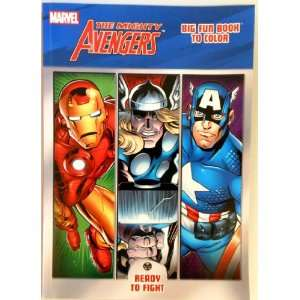 The Avengers   Marvel Avengers 96 Page Coloring Book