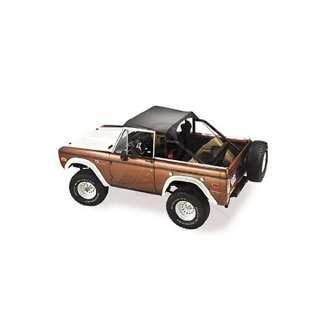 1966 1977 Ford Bronco Bestop Black Bikini Top