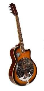 NEW RESONATOR   Single Cutaway Acoustic GUITAR   Steel