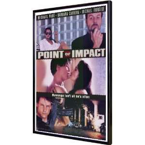Point of Impact 11x17 Framed Poster:  Home & Kitchen