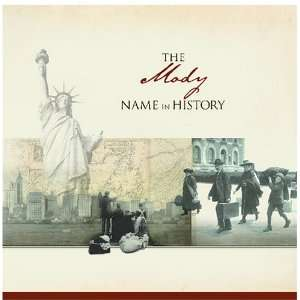 The Mody Name in History Ancestry Books