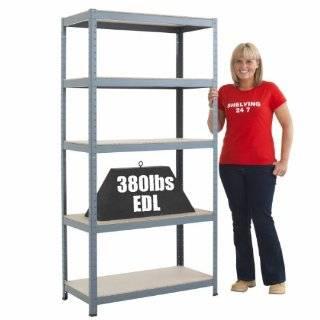 PLASTICS Dura Shelf All Plastic Shelving with Adjustable Shelves
