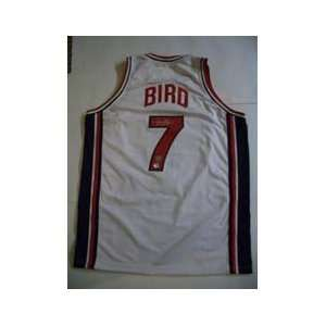 Larry Bird Signed Jersey   1992 Olympic Dream Team + HOLO