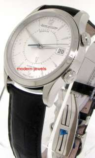 Jaeger LeCoultre JLC Master Memovox Alarm Watch Q1418430 !
