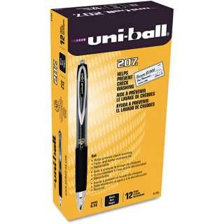 ball Signo Gel 207 Roller Ball Retractable Gel Pen, Micro Fine, Dozen
